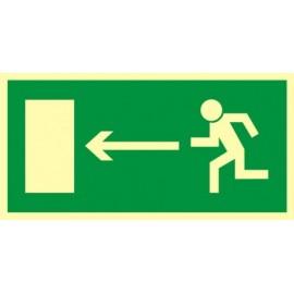 Kierunek do wyjścia drogi ewakuacyjnej 2