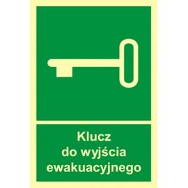 Klucz do wyjścia ewakuacyjnego