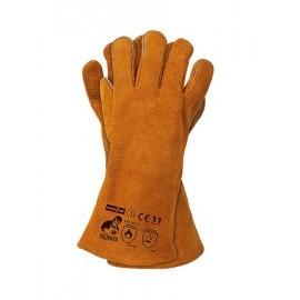 Rękawice spawalnicze wykonane ze skóry bydlęcej dwoinowej WELDOGER