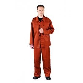 Ubranie ochronne chroniące przed ciekłymi chemikaliami ACIWER 80% poliester, 20% bawełna