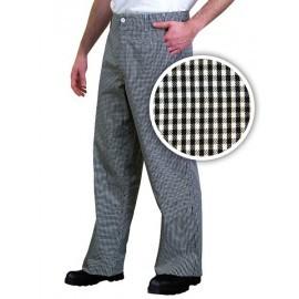 Spodnie kucharskie do pasa 65% poliestru, 35 % bawełny TROFER