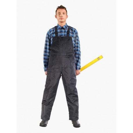 Spodnie ochronne ogrodniczki ocieplane S-WINTER 100% poliester