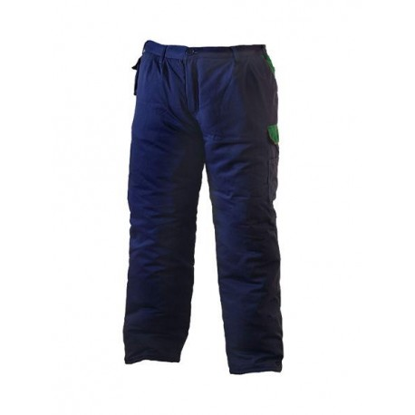 Spodnie ocieplane do pasa typu Taiga 65% poliester, 35% bawełna SPTOGZ