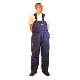 Spodnie ocieplane, ogrodniczki typu Taiga 65% poliester, 35% bawełna STOGZ ogrodniczki