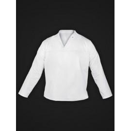 Bluza ochronna bez guzików 65% poliester, 35% bawełna FOOD_JWB