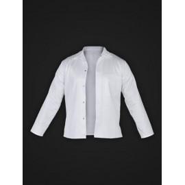 Bluza ochronna z długim rękawem, zapinana 65% poliester, 35% bawełna HCL_JBU