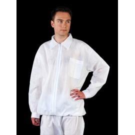Bluza ochronna z polipropylenu z długim rękawem BFILS-POLIPROPYLEN