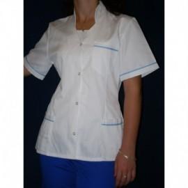 Ubranie medyczne z elanobawełny ze spodniami 2-45 stójka
