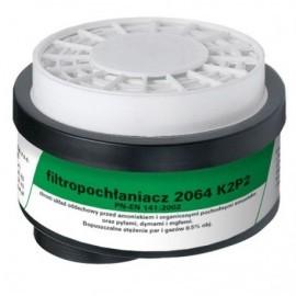 Filtropochłaniacz 2064 K2 P2 R D kpl. 2 szt.