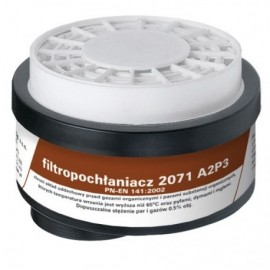 Filtropochłaniacz 2071 A2 P3 R D kpl. 2 szt.