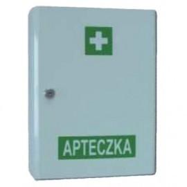 """Apteczka """"VERA1"""" w szafce metalowej DIN 13164"""