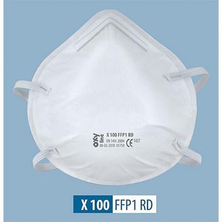 Półmaska X 100 FFP1 R D