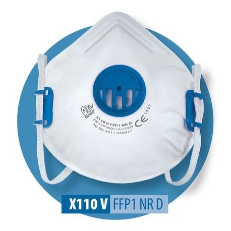 Półmaska X 110 V FFP1 NR D
