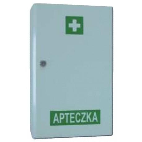 """Apteczka """"VERA2"""" w szafce metalowej DIN 13157"""