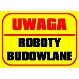 UWAGA ROBOTY BUDOWLANE