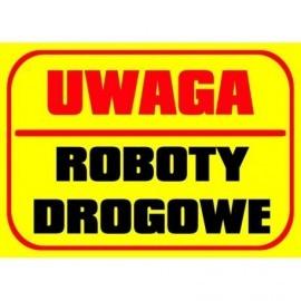 UWAGA ROBOTY DROGOWE