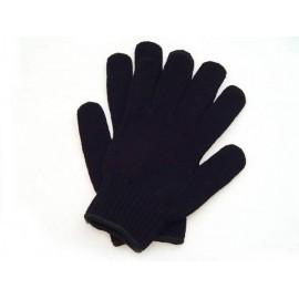 Rękawice ochronne ocieplane wykonane z grubej dzianiny RDZO