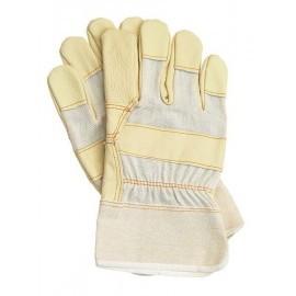 Rękawice ochronne wzmacniane skórą bydlęcą RLJ